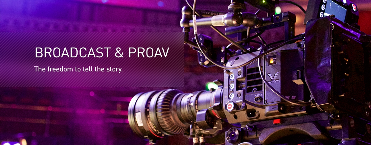 Panasonic Broadcast & ProAV - The freedom to tell the story